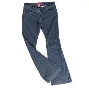 Victoria Secret PINK grey corduroy pants flare